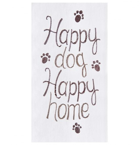 A photo of the Happy Dog Kitchen Towel product