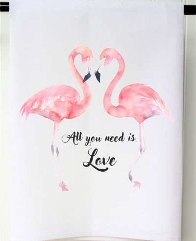 A photo of the All You Need Is Love Towel product