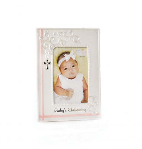 A photo of the Baby's Christening Photo Frame product