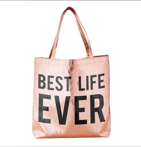 A photo of the Best Life Ever Tote product