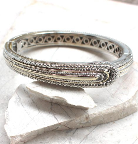 A photo of the Buckle Bangle Bracelet product
