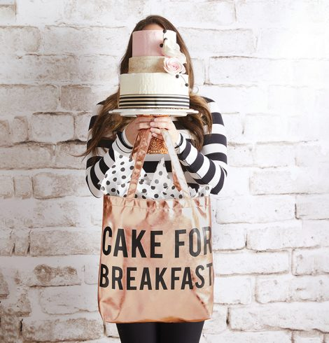 A photo of the Cake For Breakfast Tote product