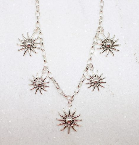 A photo of the Firey Sun Necklace product