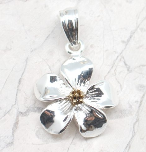 A photo of the Flirty Floral Pendant product