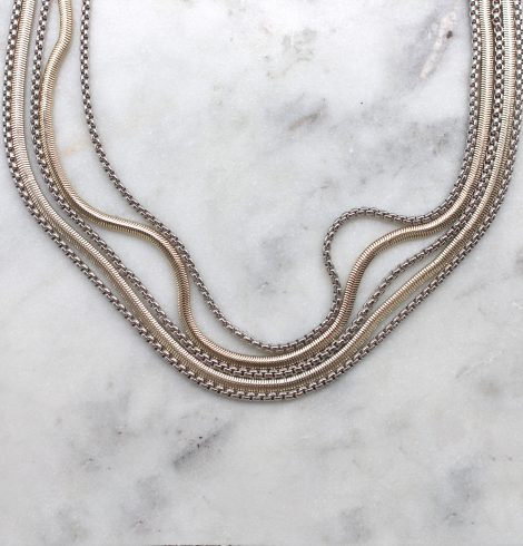A photo of the Layered Necklace product