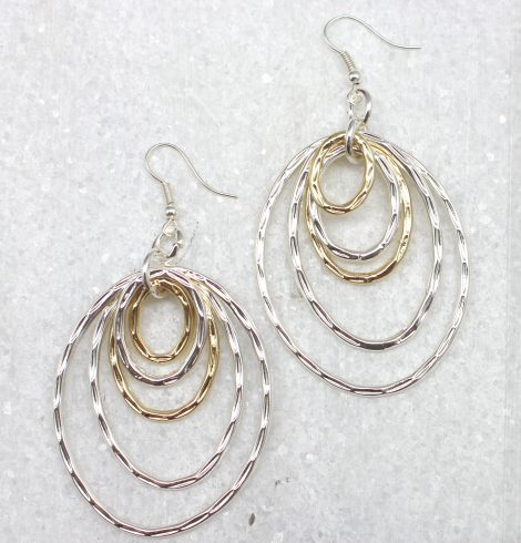 A photo of the Multi Ring Earrings product