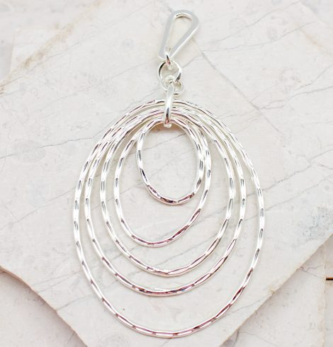 A photo of the Multi Ring Oval Pendant product