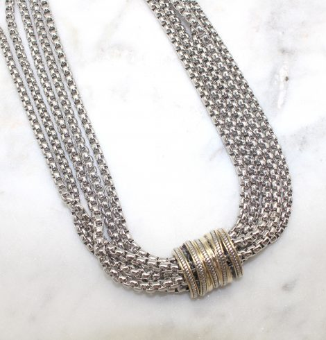 A photo of the Multi Strand Magnetic Necklace product