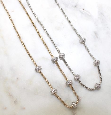 A photo of the Rhinestone Bead Chain product