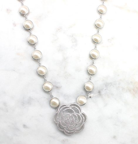 A photo of the Rosalie Necklace product