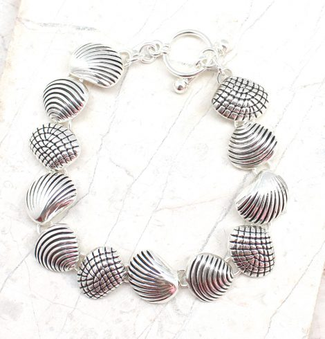 A photo of the Textured Shell Bracelet product