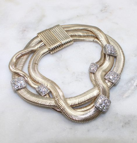 A photo of the Twisted Layers Bracelet product