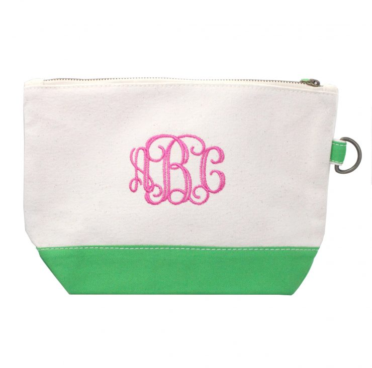 A photo of the Canvas Pouch- Monogram Me! product