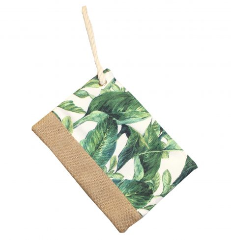 A photo of the Banana Leaf Wristlet product