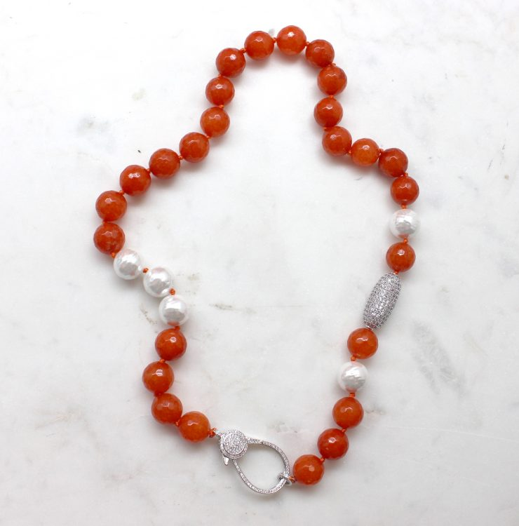 A photo of the Celina Necklace product