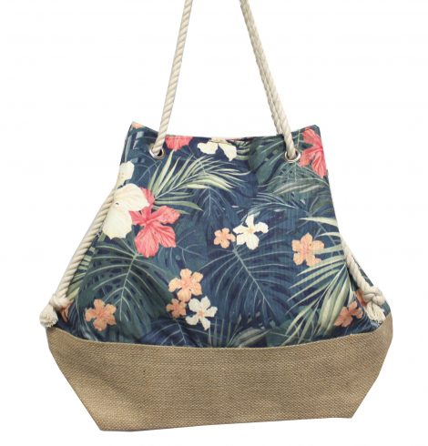 A photo of the Tropical Flowers Satchel product