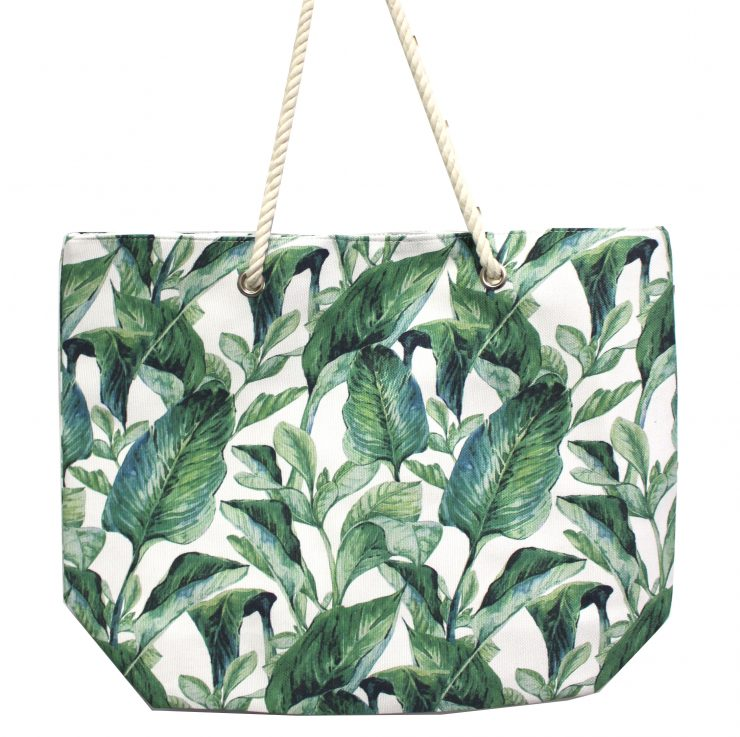 A photo of the Rope Banana Leaf Tote product