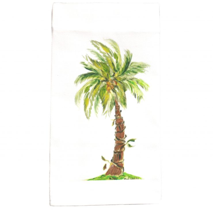 A photo of the Palm Tree Towel product