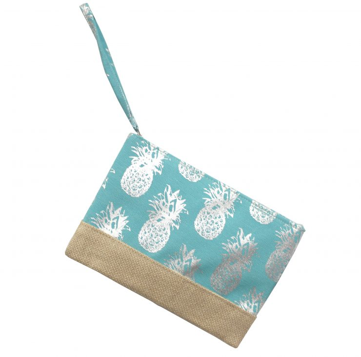 A photo of the Pineapple Wristlet product