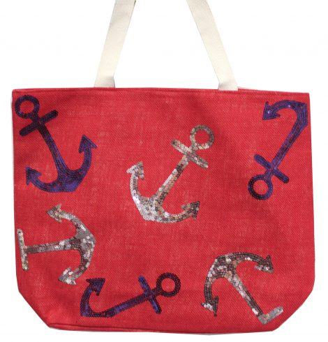 A photo of the Sequin Anchor Tote product