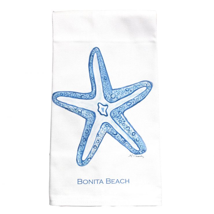 A photo of the Bonita Beach Starfish Towel product