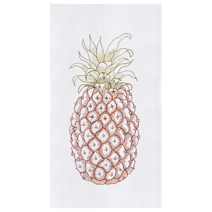 A photo of the Pineapple Kitchen Towel product