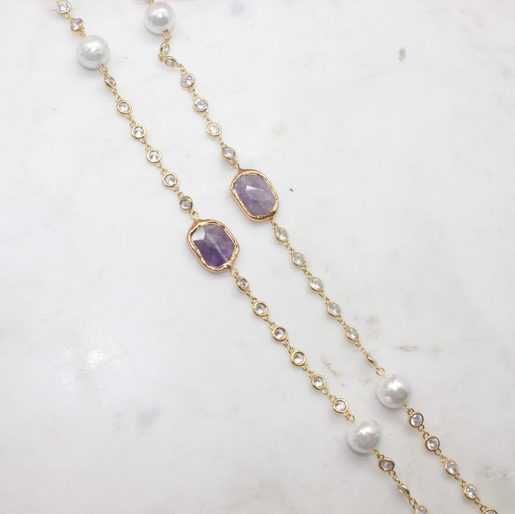 A photo of the Tilda Necklace product