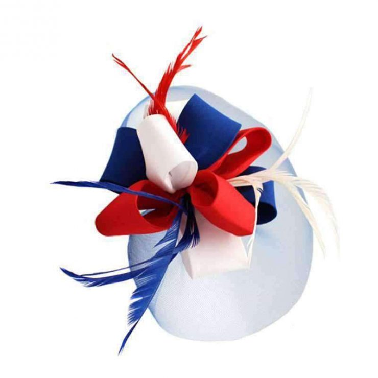 A photo of the Americana Fascinator product