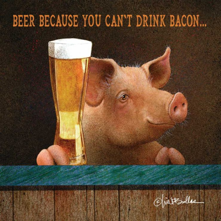 A photo of the Beer and Bacon Napkins product