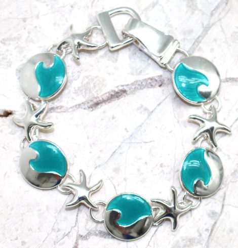 A photo of the Ocean Baubles Bracelet product