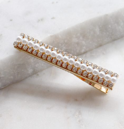 A photo of the Pearl Barrette product
