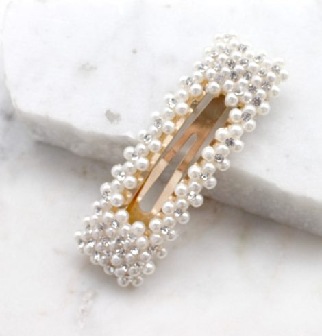 A photo of the Pearl Snap Barrette product