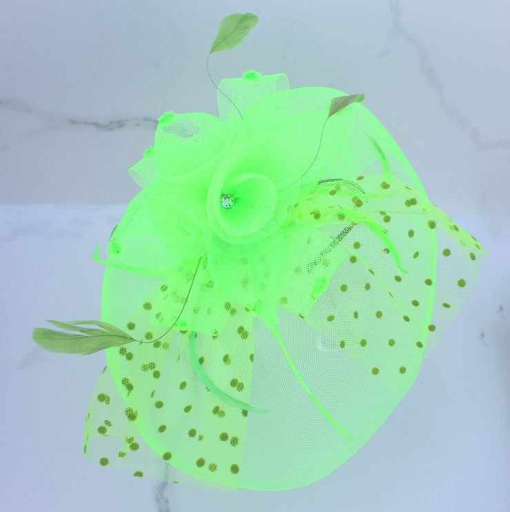 A photo of the Rose Fascinator product