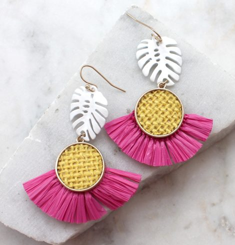 A photo of the Tropical Times Earrings product
