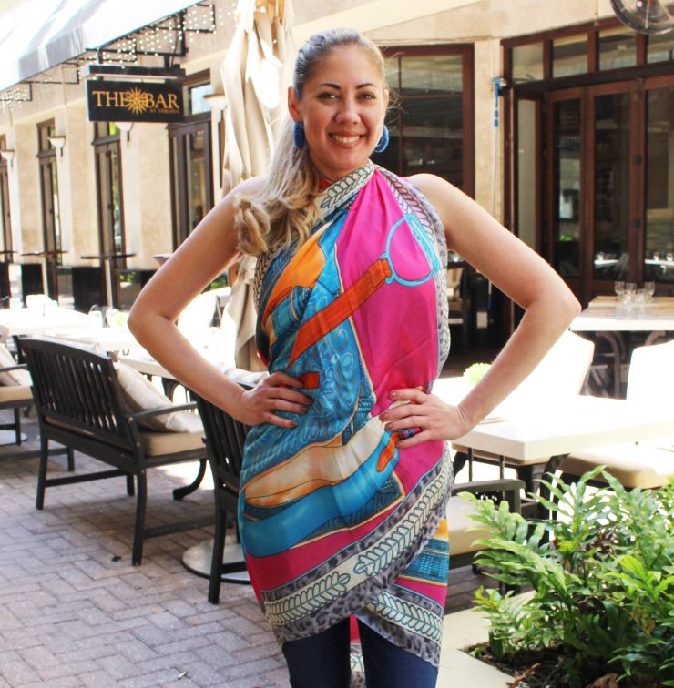 A photo of the Lila Scarf product