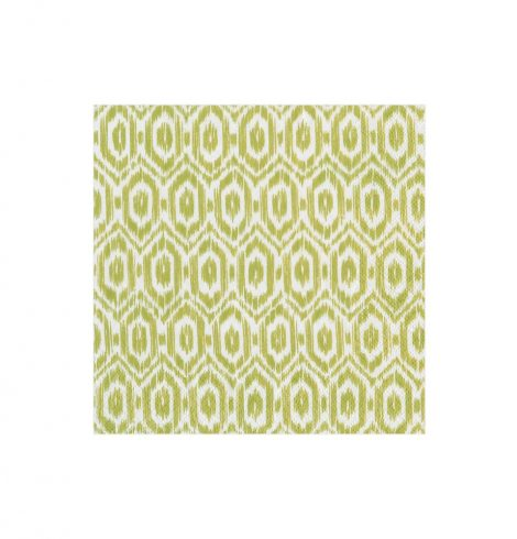 A photo of the Amala Ikat Green Napkins product