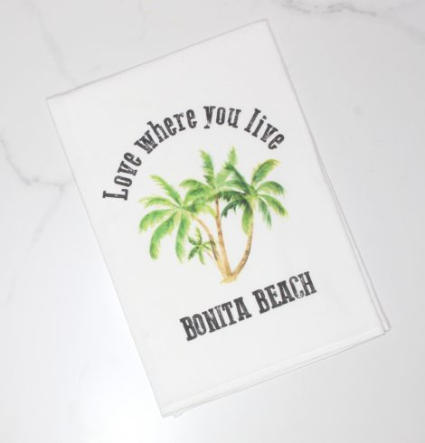 A photo of the Bonita Beach Kitchen Towel product