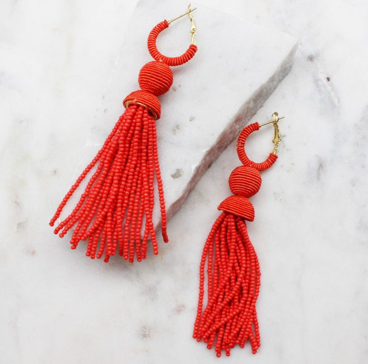 A photo of the Breezy Tropics Earrings product