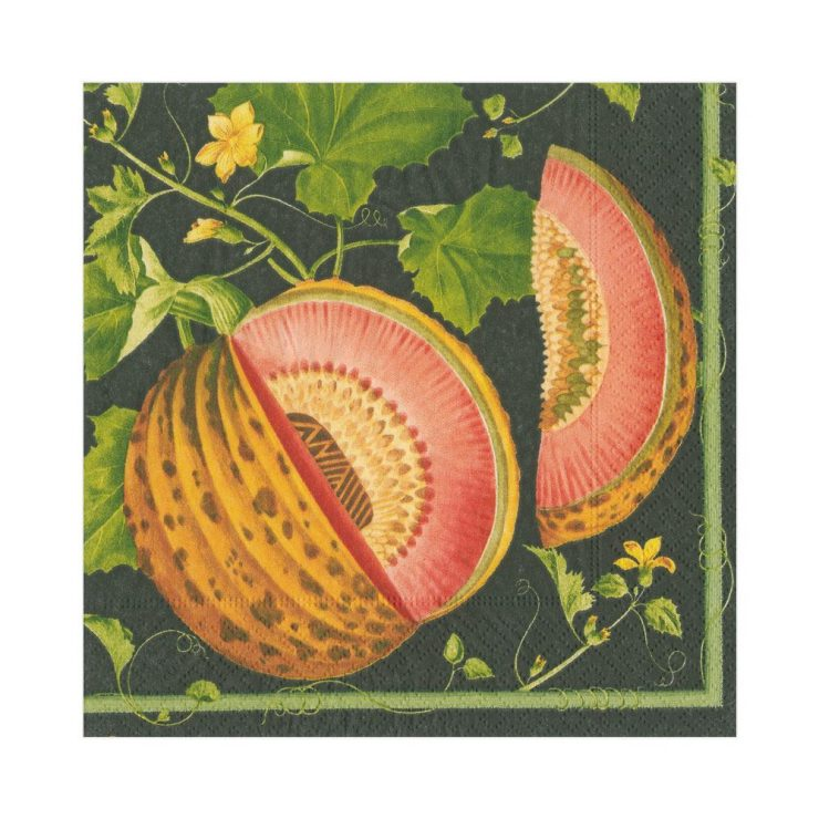A photo of the Brookshaw Melon Luncheon Napkins product