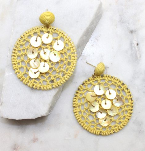 A photo of the Caught Up Earrings product