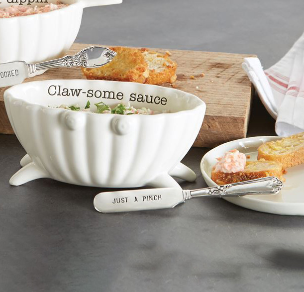 A photo of the Crab Seafood Dip Bowl Set product