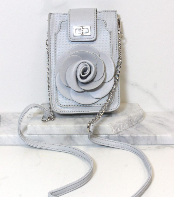 A photo of the Fiery Floral Cross Body Purse product