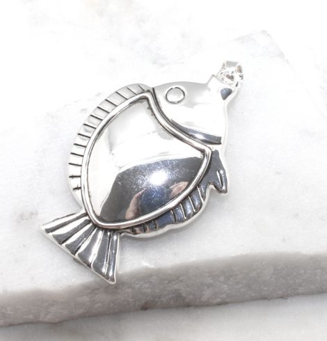 A photo of the Flounder Fish Pin and Pendant product