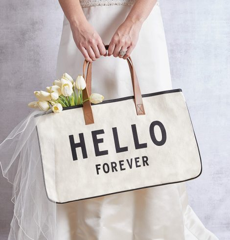A photo of the Hello Forever Tote product