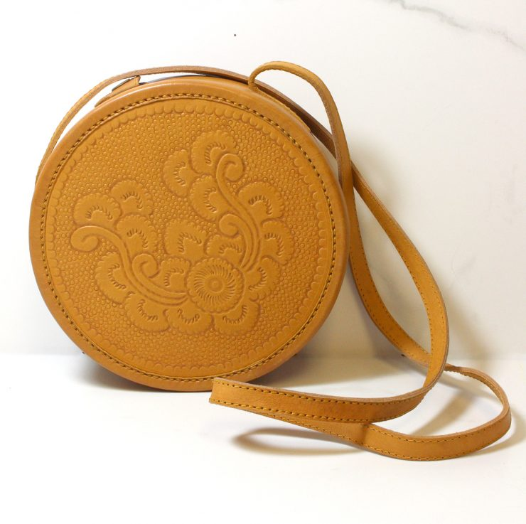 A photo of the Leather Cross Body Bag product