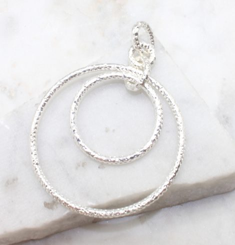 A photo of the Matte Ring Pendant product
