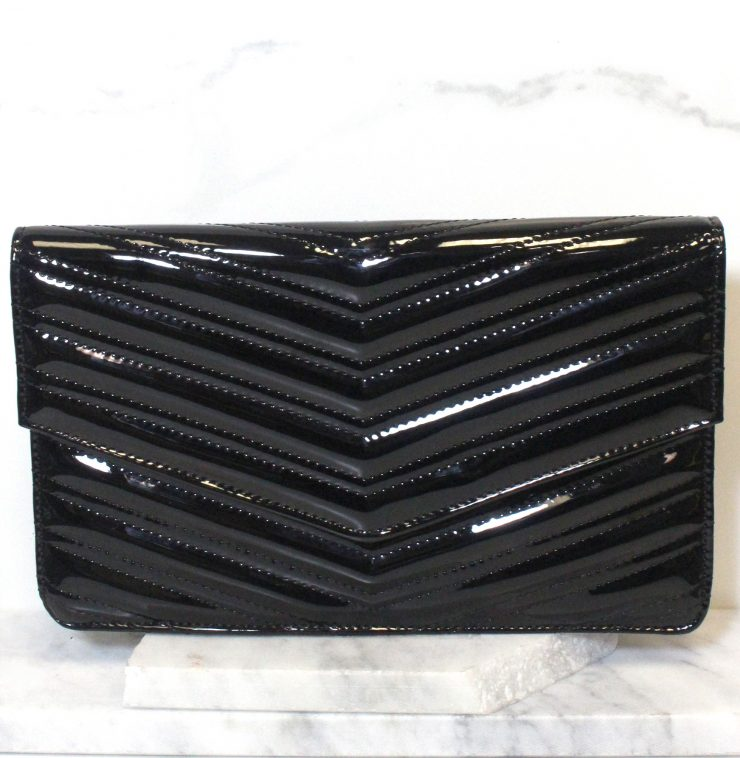 A photo of the Neon Envelope Clutch product