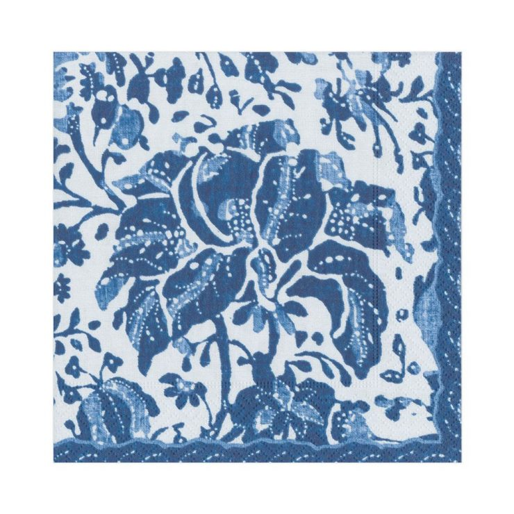 A photo of the Plantation Print Luncheon Napkins product