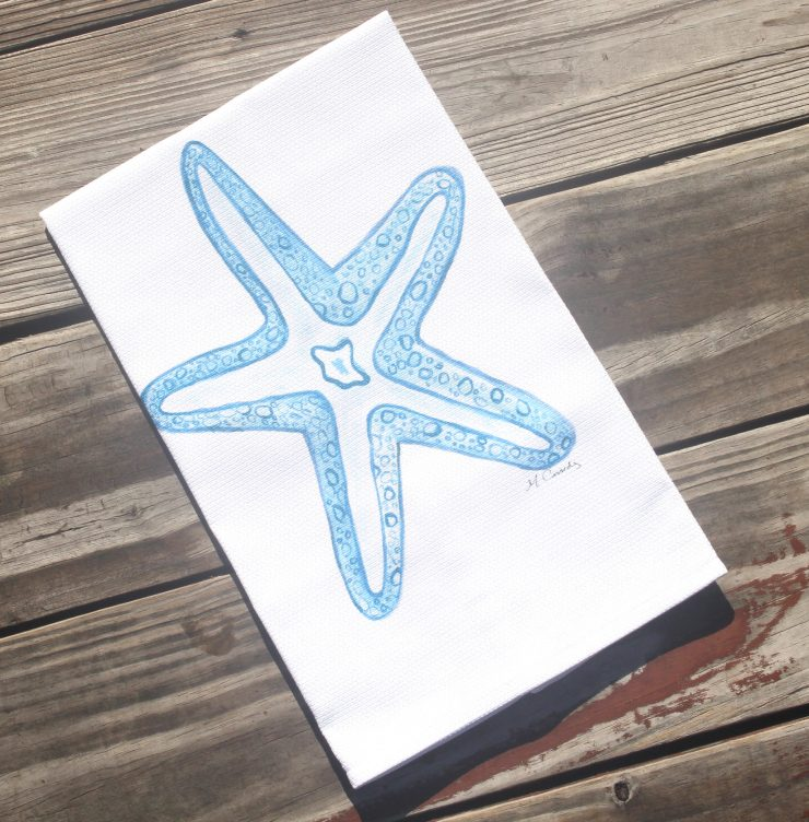 A photo of the Starfish Kitchen Towel product