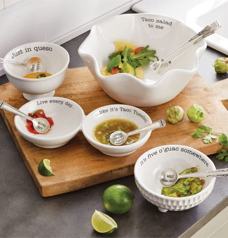 A photo of the Taco Salad Circa Dish Set product